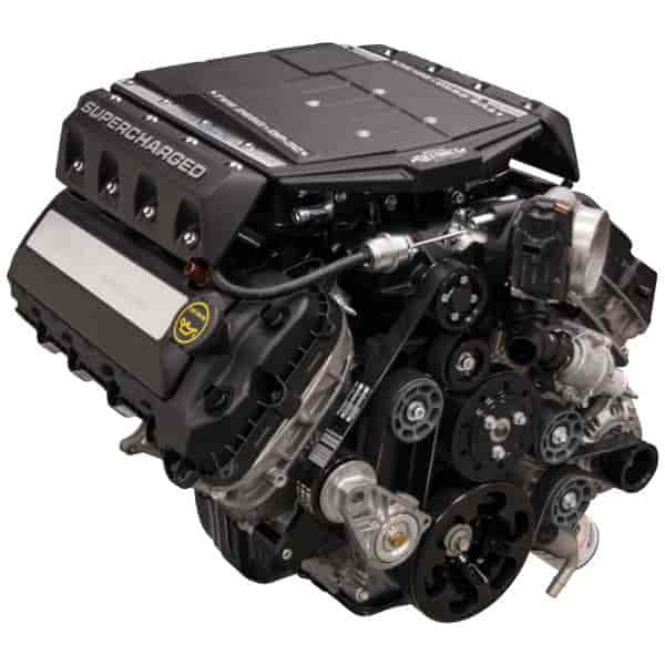 Edelbrock Supercharged Ford Coyote 5.0L Crate Engine 302ci ...