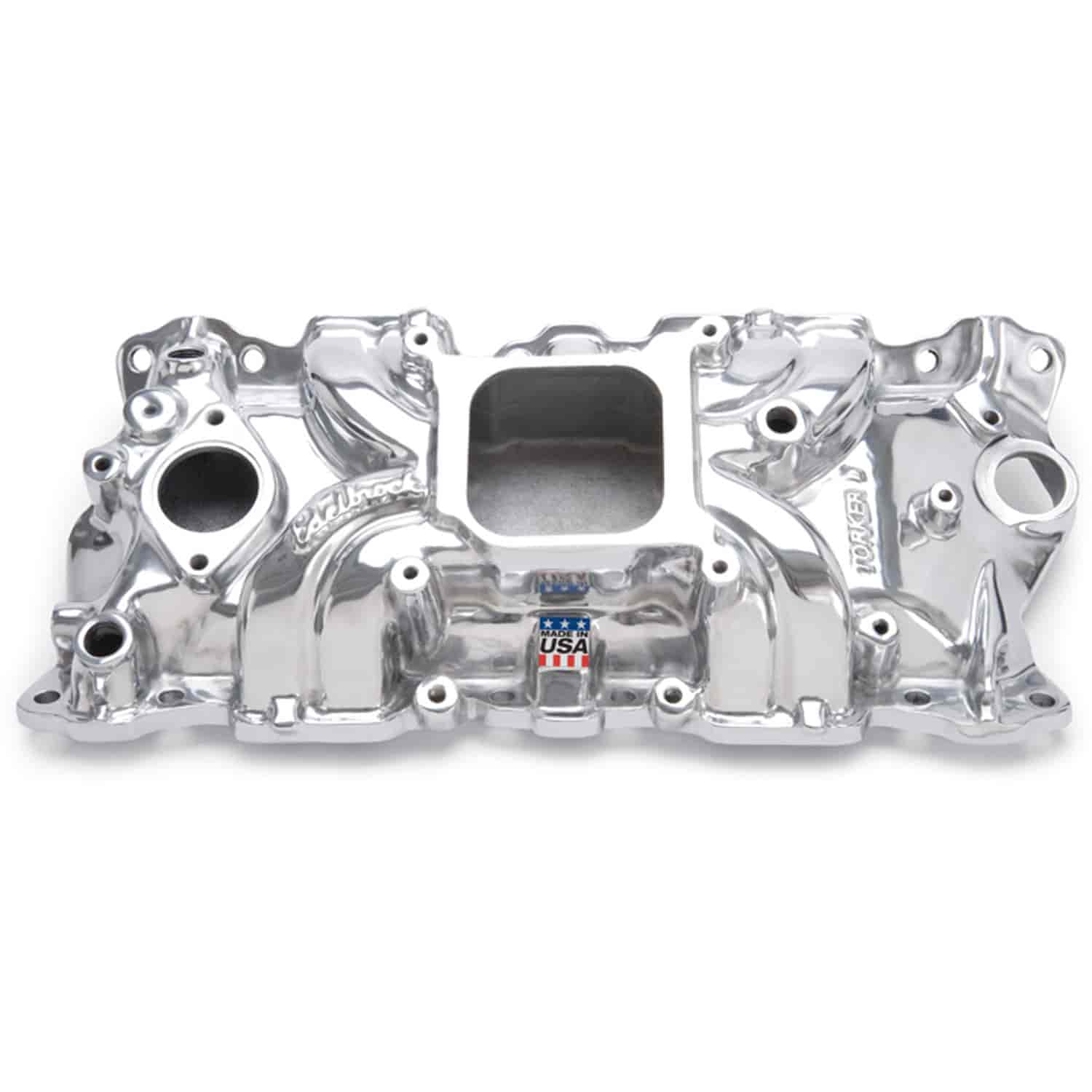 Edelbrock 50011 - Edelbrock Torker-II Manifolds and Kits for Chevy