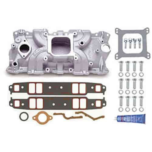 Edelbrock 5001K - Edelbrock Torker-II Manifolds and Kits for Chevy