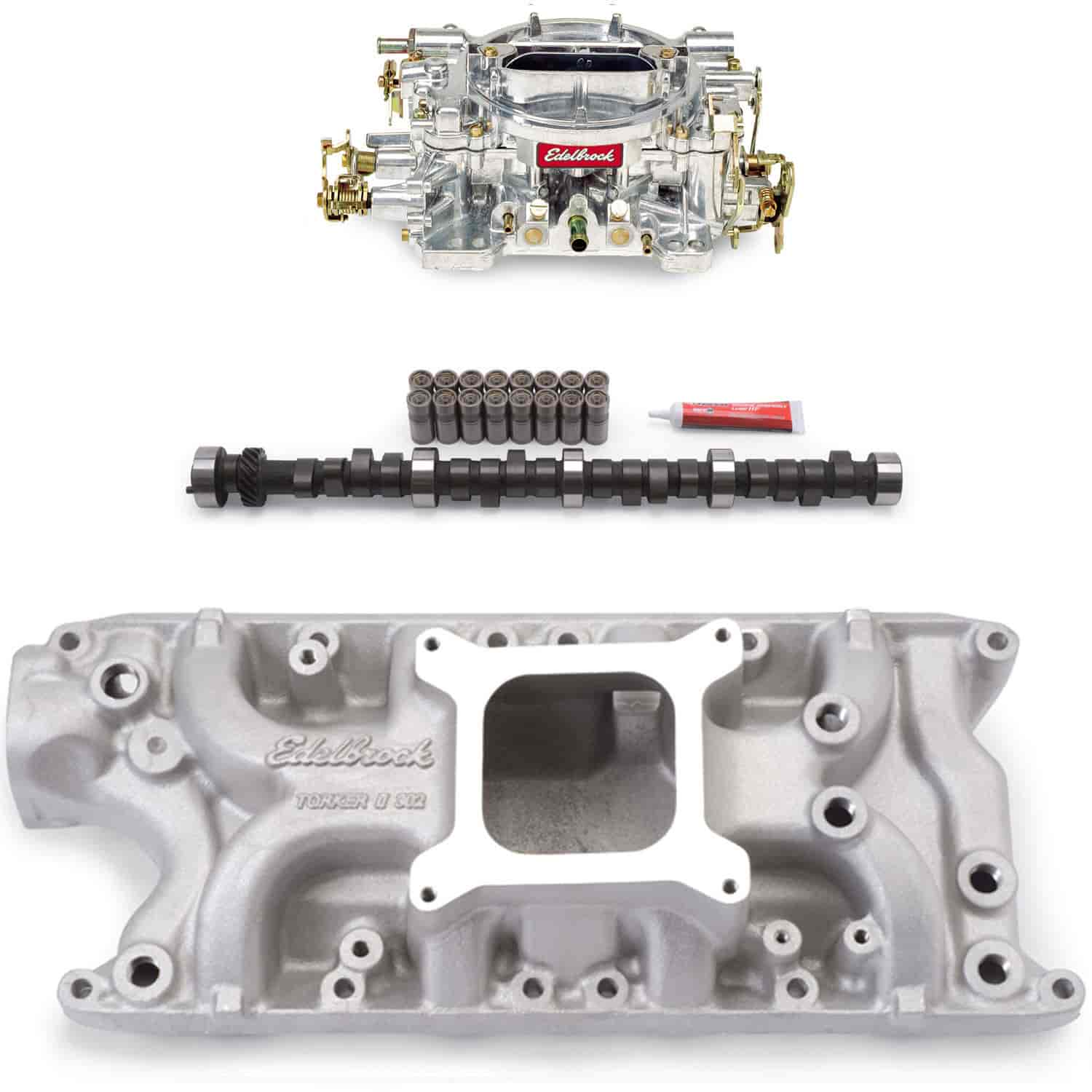 Edelbrock 5021PK - Edelbrock Torker-II Manifolds and Kits for Ford