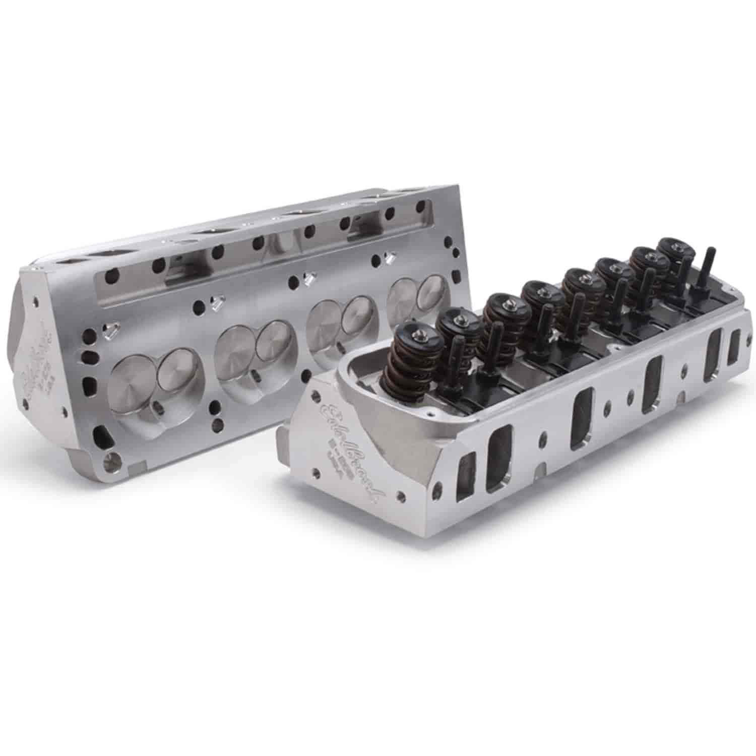 Edelbrock 5027 - Edelbrock E-Series 205 Heads for Small Block Ford