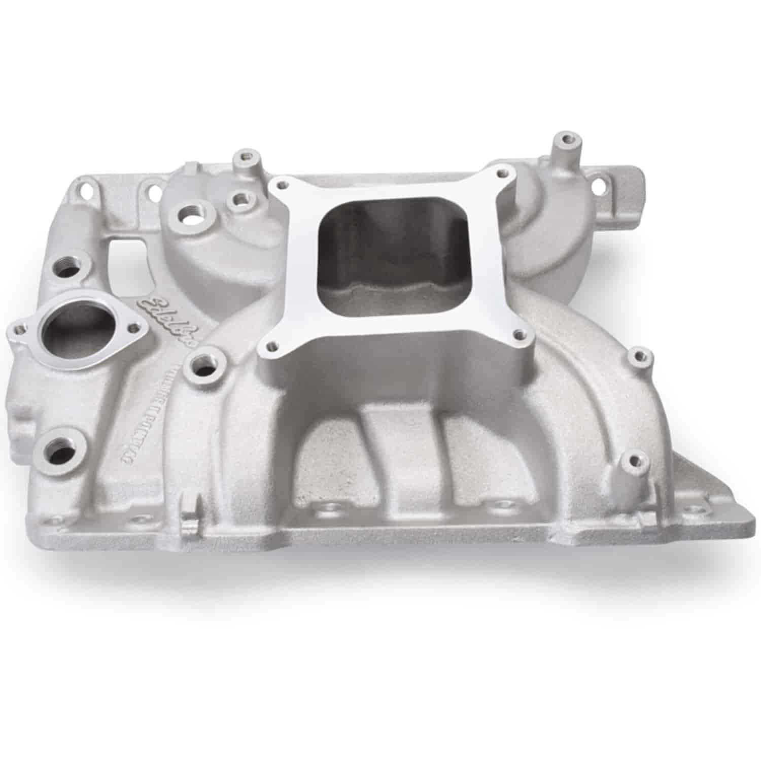Edelbrock 5056 - Edelbrock Torker-II Manifolds and Kits for Pontiac