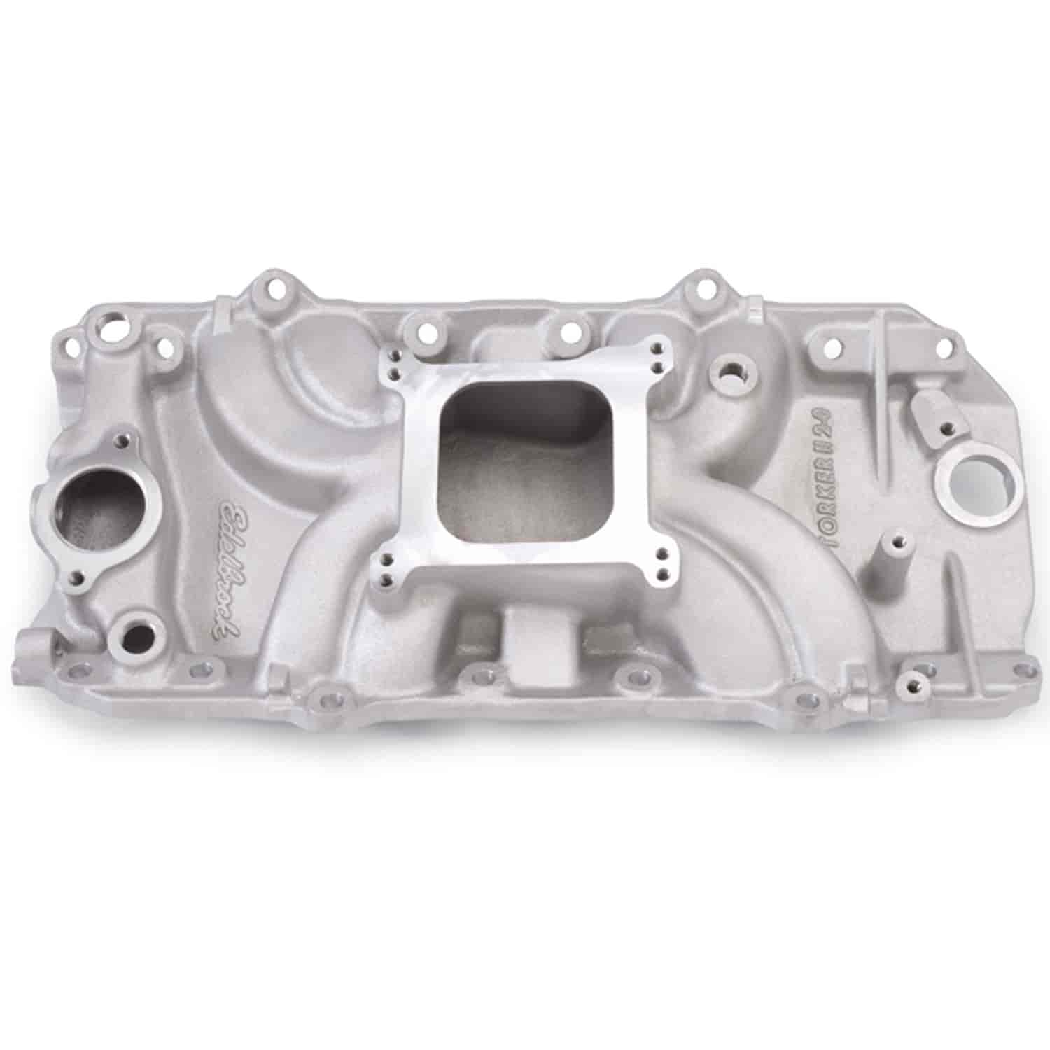 Edelbrock 5061 - Edelbrock Torker-II Manifolds and Kits for Chevy