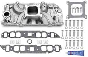 Edelbrock 5061K - Edelbrock Torker-II Manifolds and Kits for Chevy