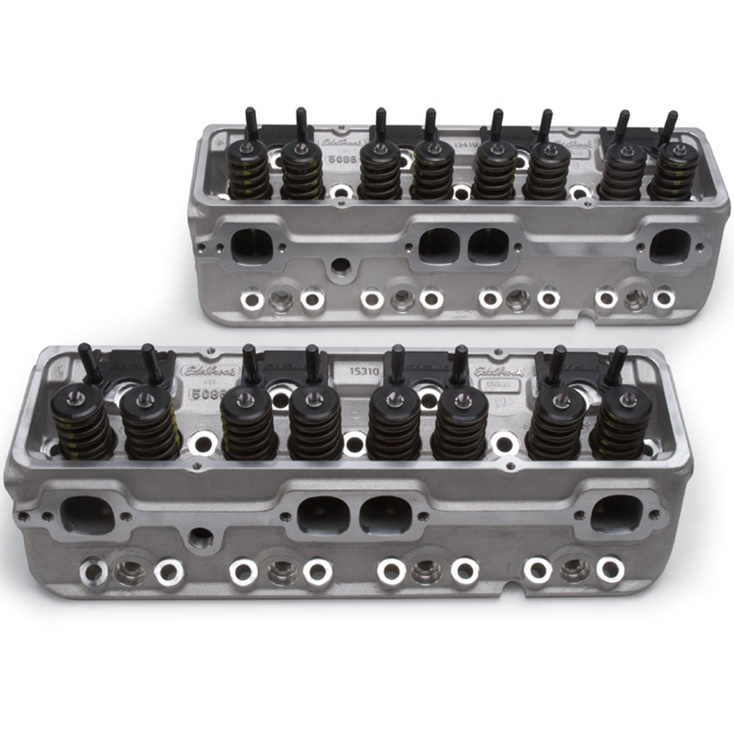 Edelbrock 5085 - Edelbrock E-Series 210 Heads for Small Block Chevy