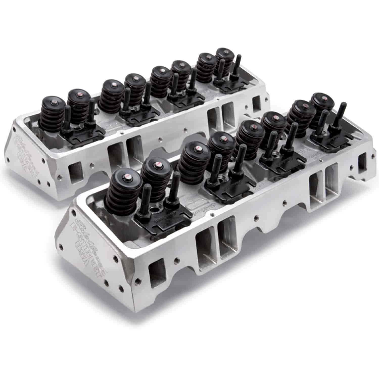 Edelbrock E-Street Cylinder Heads for Small Block Chevy