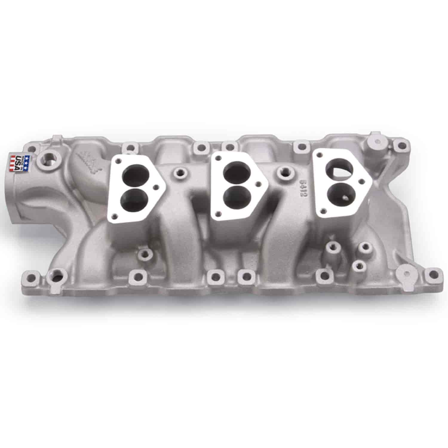 Edelbrock 5412 - Edelbrock Performer Manifolds for Ford