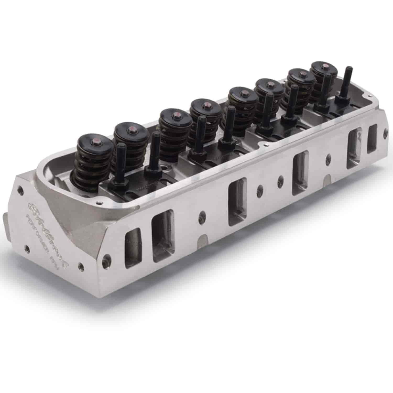 Edelbrock 2019 Rpm Power Package Top End Kit Small Block: Edelbrock 60255 Performer RPM Aluminum Cylinder Head Ford