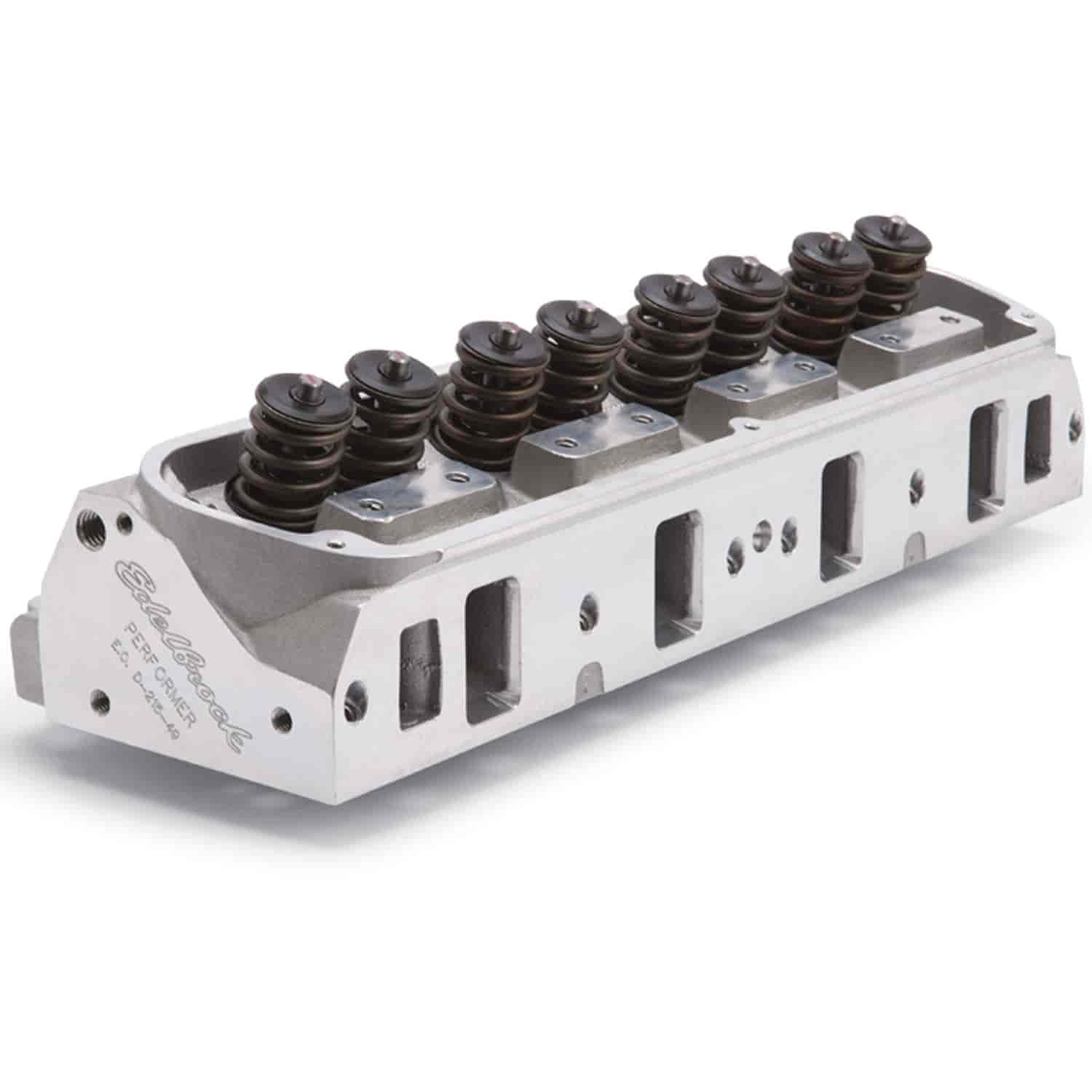Edelbrock 60379 - Edelbrock Performer Cylinder Heads For 5.0/5.8L Ford