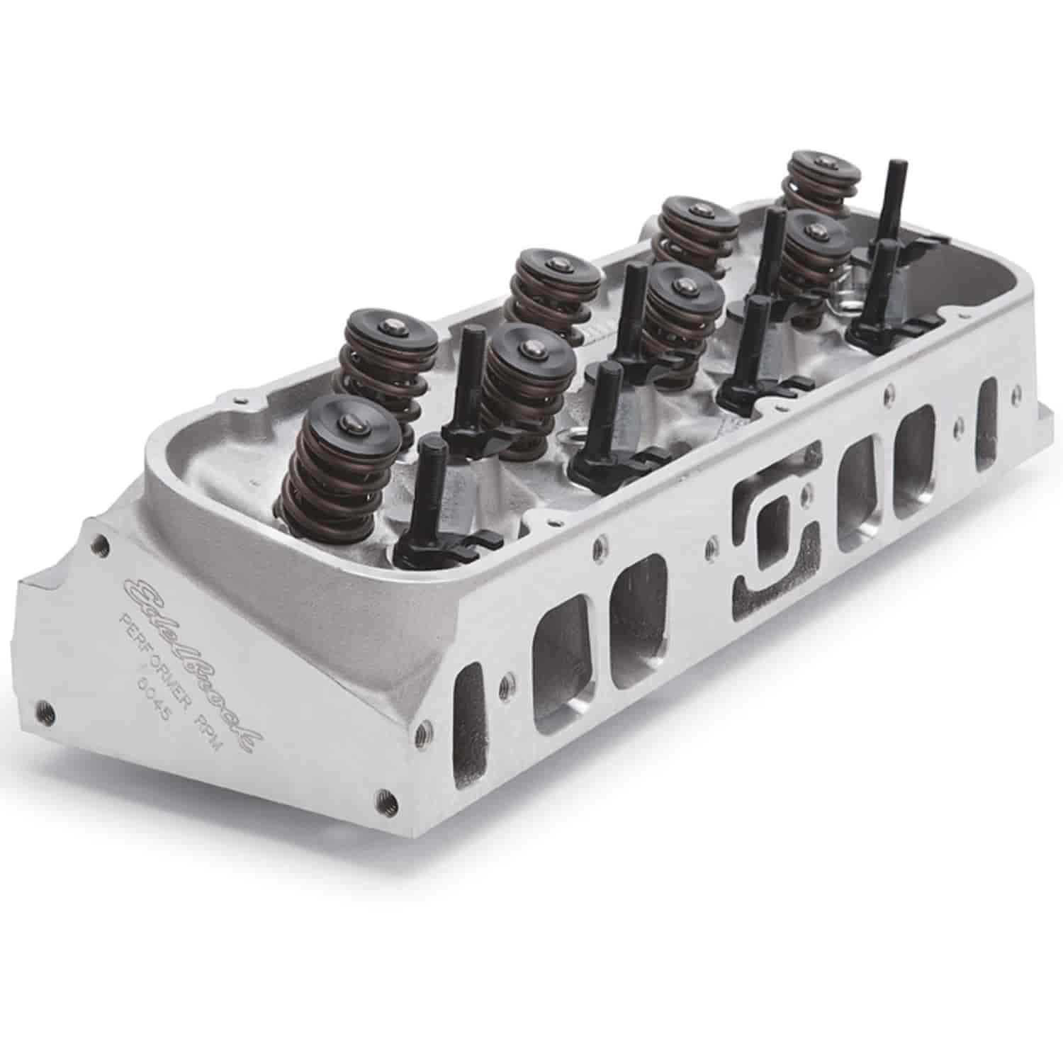 Edelbrock Performer RPM 454-O Oval Port Aluminum Cylinder Head
