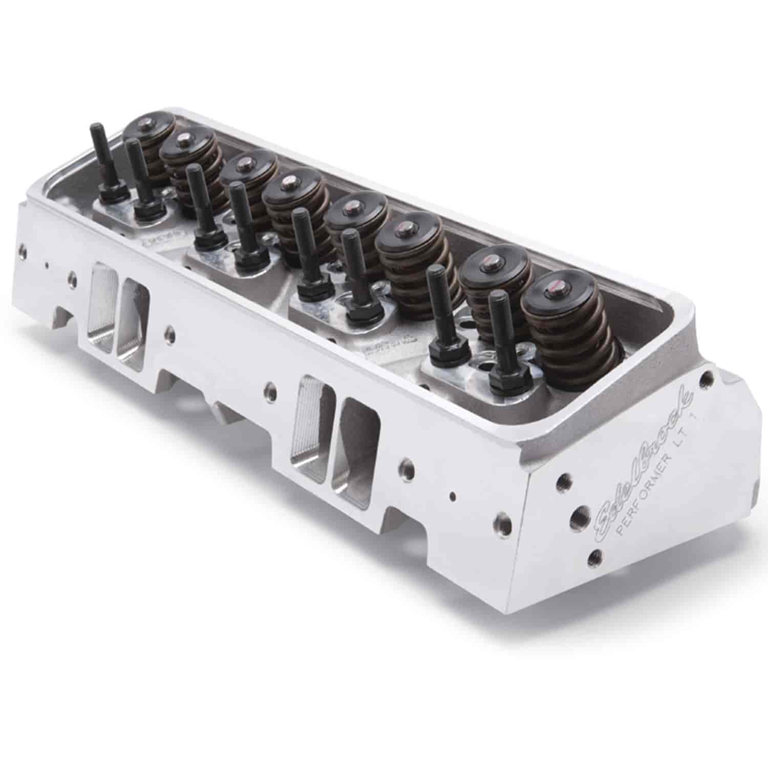 Edelbrock 61905 Performer Lt1 Cylinder Heads Chevy 5 7l: Edelbrock 61905 Performer High-Compression Cylinder Head