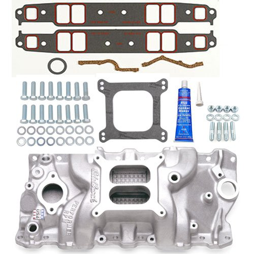 Edelbrock Performer RPM Power Package 1955-86 Small Block Chevy 262-400  Includes: