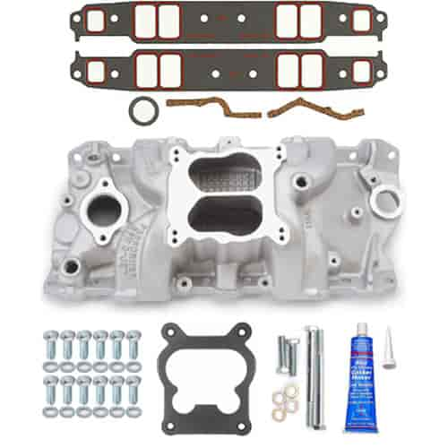Edelbrock 7104K - Edelbrock Performer RPM Manifolds & Kits for Chevrolet