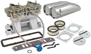 Edelbrock 7110K2 - Edelbrock/Holley/Weiand Tunnel Ram Carb & Intake Kits