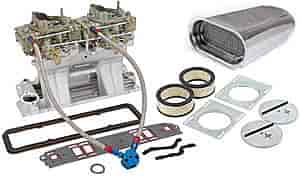 Edelbrock 7110K3 - Edelbrock/Holley/Weiand Tunnel Ram Carb & Intake Kits