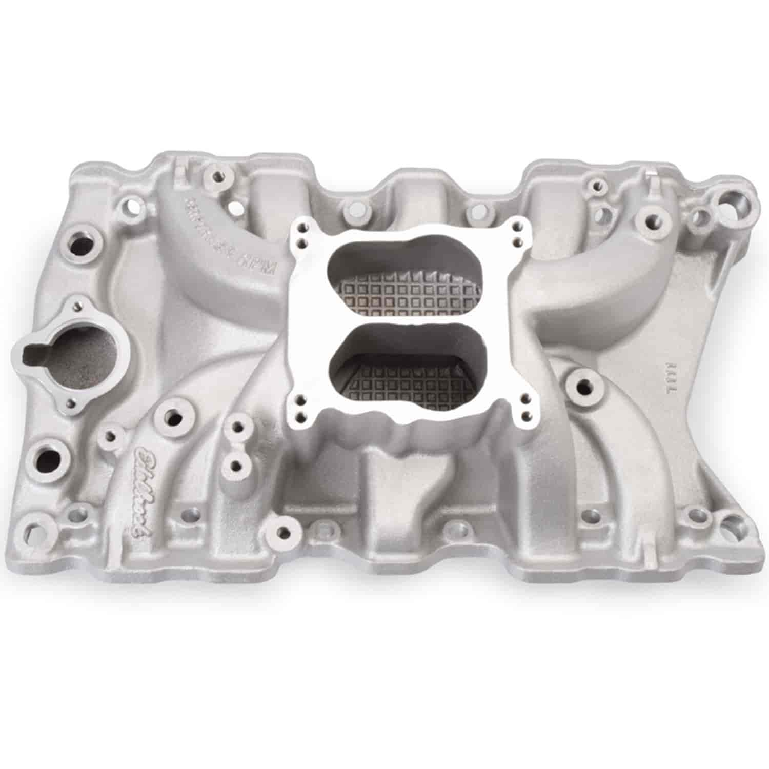 Edelbrock 7111 - Edelbrock Performer RPM Manifolds & Kits for Olds