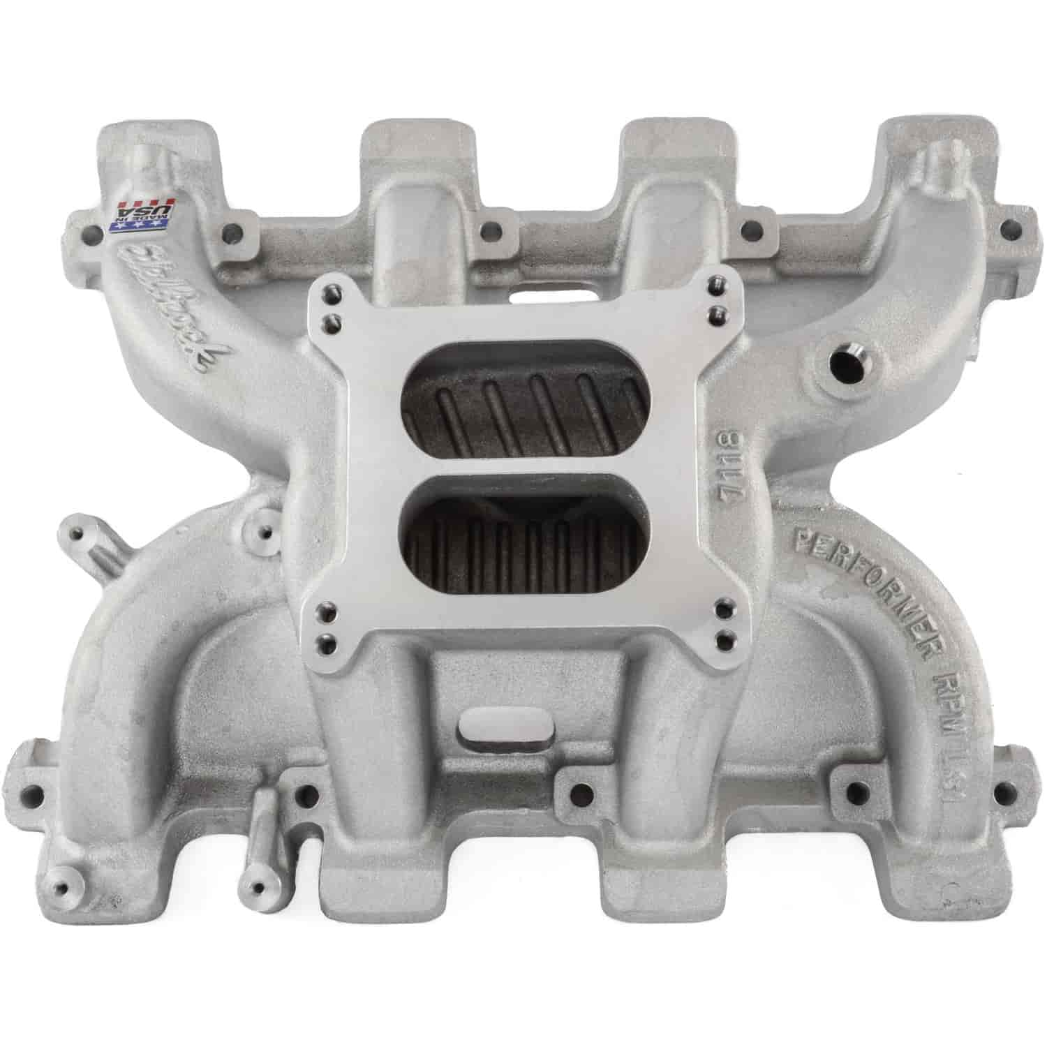Edelbrock 711871 - Edelbrock Performer RPM Manifolds & Kits for Chevrolet
