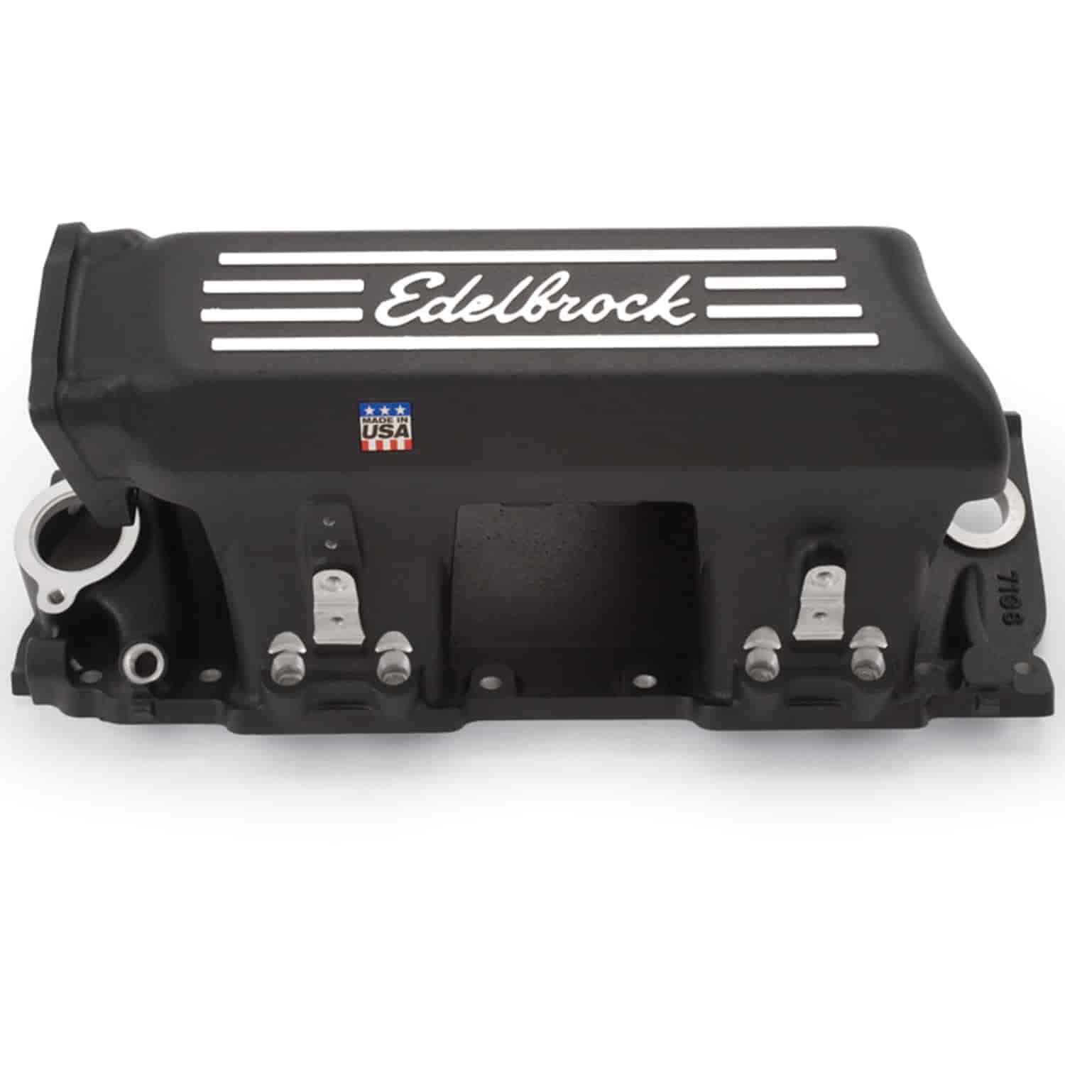 350 71363 edelbrock 71363 pro flo xt efi intake manifold bbc jegs Edelbrock Crate Engines at nearapp.co