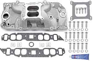 Edelbrock 7161K - Edelbrock Performer RPM Manifolds & Kits for Chevrolet