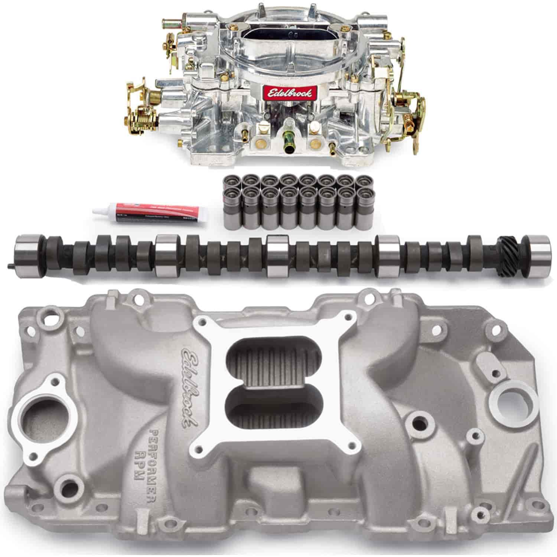 Edelbrock Performer RPM 2-R Power Package Big Block Chevy 396-502  (Rectangular Port) Includes: