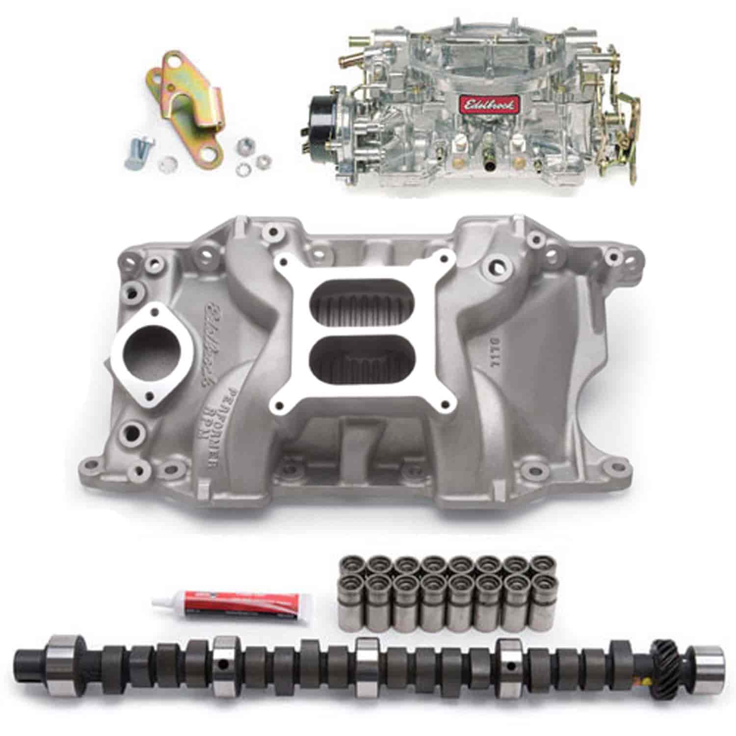 Edelbrock 7176PK - Edelbrock Performer RPM Manifolds & Kits for Chrysler