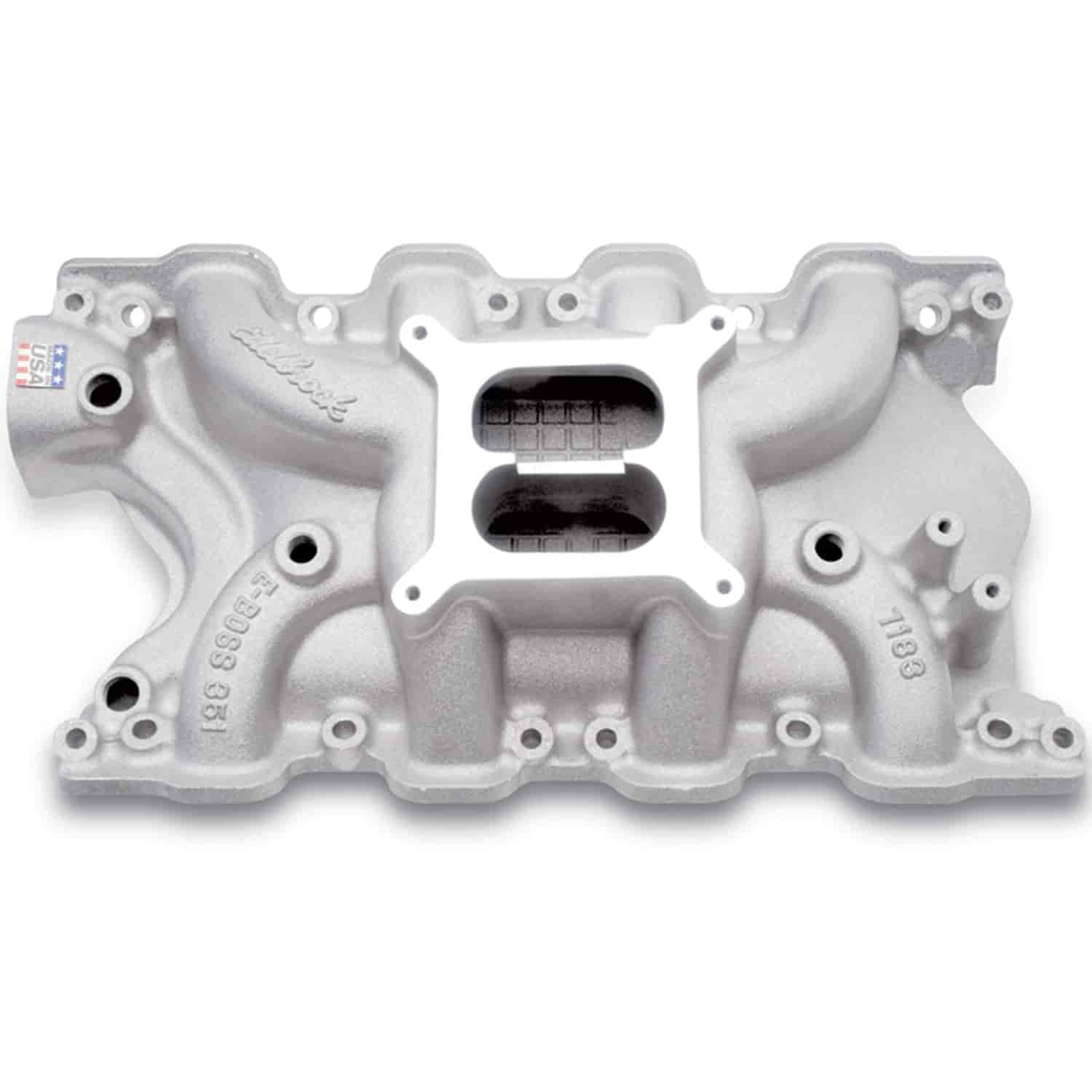 Edelbrock 7183 - Edelbrock Performer RPM Manifolds & Kits for Ford