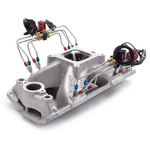 Edelbrock 72925 Direct Port Nitrous Plumbed Intake