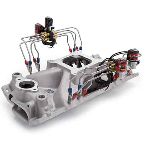 Edelbrock 72975: Pre-Assembled Direct Port Nitrous Plumbed