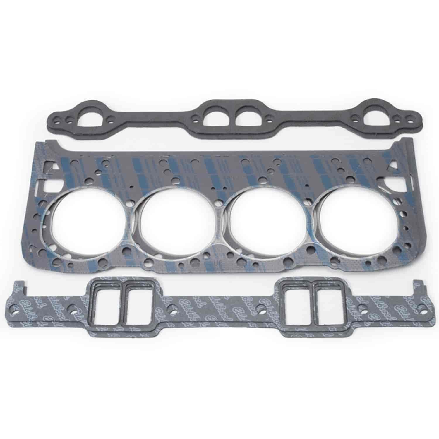 Edelbrock 61905 Performer Lt1 Cylinder Heads Chevy 5 7l: Edelbrock 7380 Head Gaskets Set