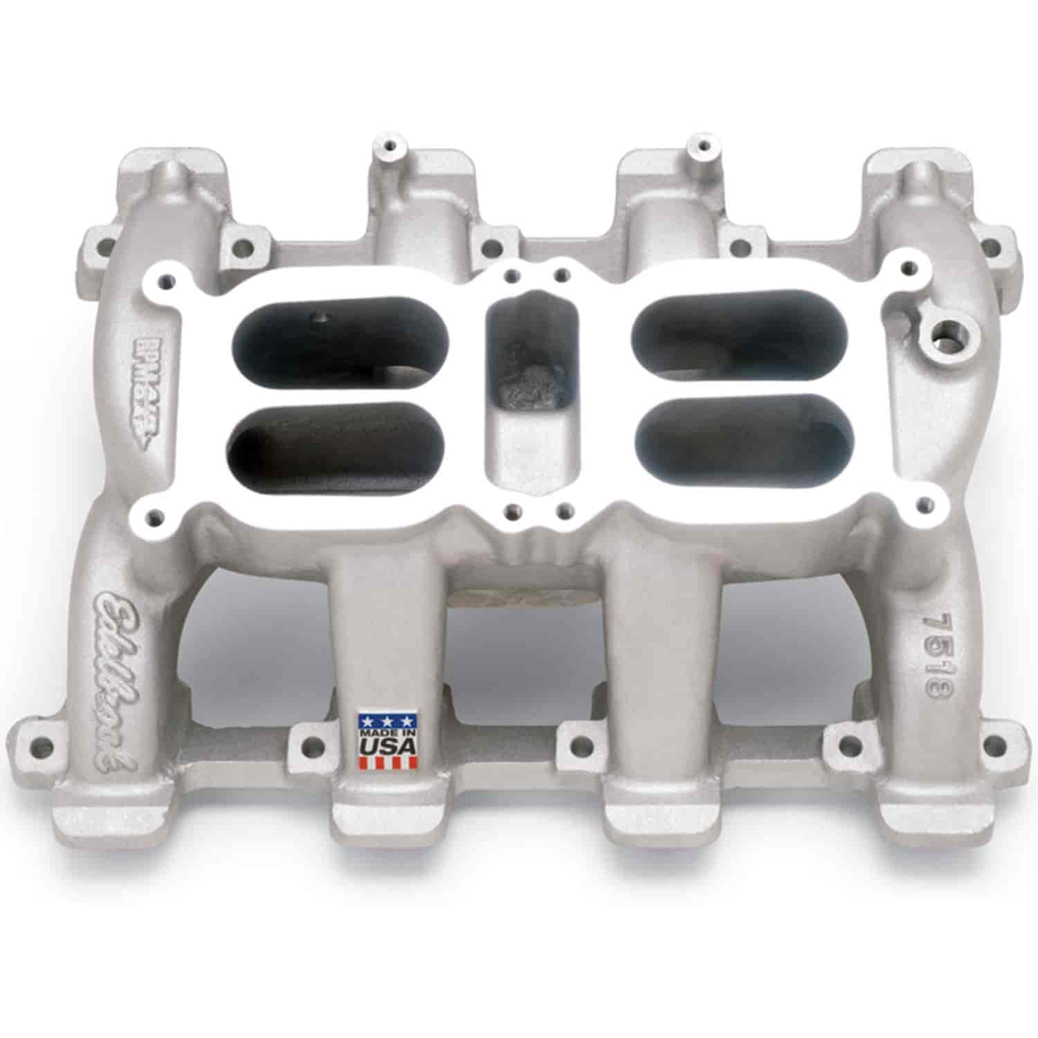 Edelbrock Performer Rpm Ls1 Intake Manifold: Edelbrock 75187 RPM Air-Gap Dual-Quad LS1 Manifold For GM