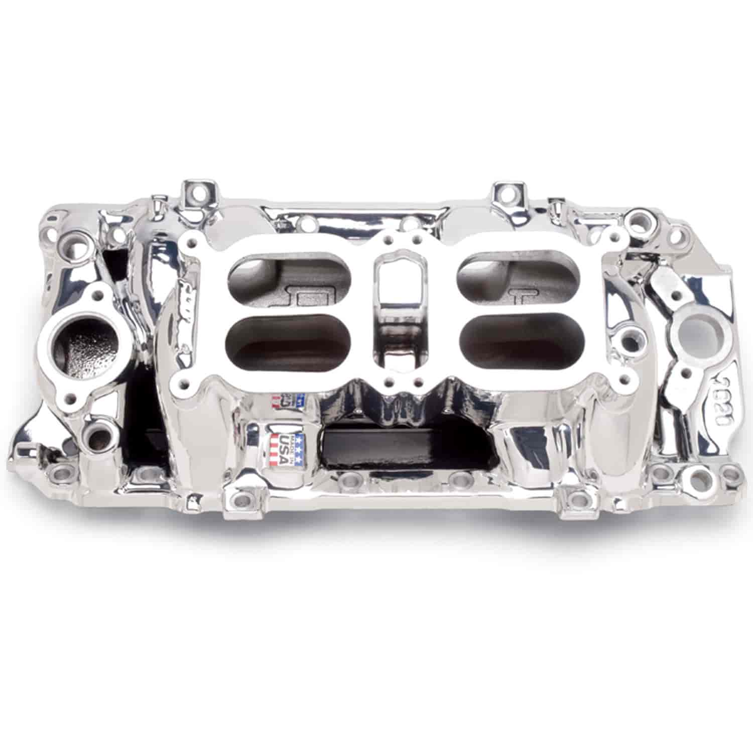 Edelbrock 75204 RPM Air-Gap Dual-Quad Manifold