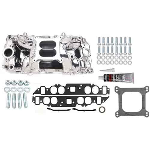 Edelbrock 75614K RPM Air-Gap 2-O Intake Manifold Kit Big
