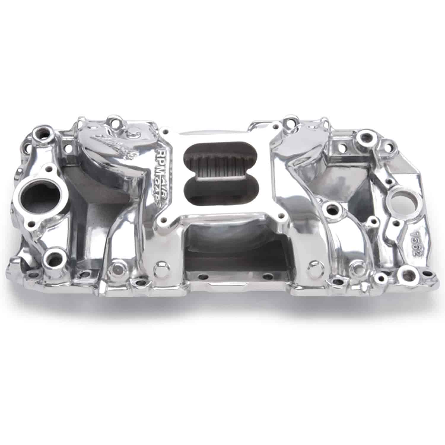 Edelbrock 75621 Rpm Air Gap 2 R Intake Manifold Bb Chevy 396 502 W 196567 Power Steering Pump Corvette Parts And Accessories