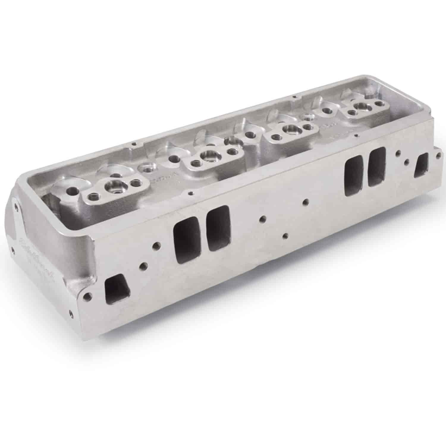 Edelbrock 77519 - Edelbrock Pro-Port Raw & Semi-Finished Heads For Small Block Chevy