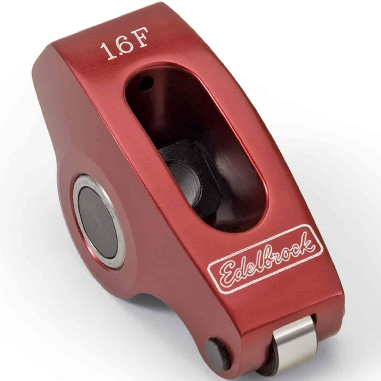 Edelbrock 77781: Red Roller Rocker Arm For Small Block