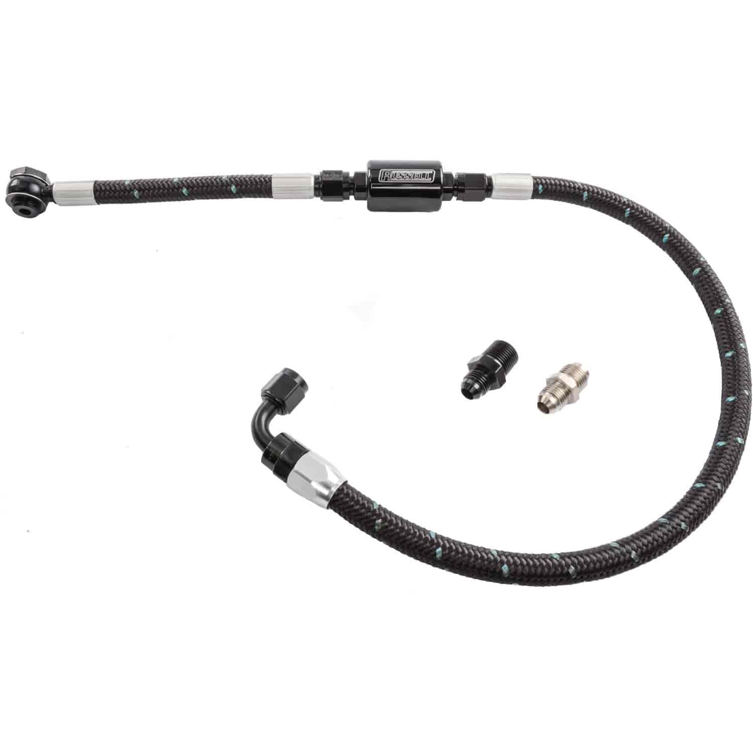 Edelbrock 8103 - Edelbrock Carburetor Single Feed Fuel Line Kits