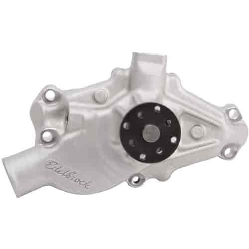 Edelbrock 8810 - Edelbrock Victor Series Water Pumps - As-Cast Natural Satin Finish