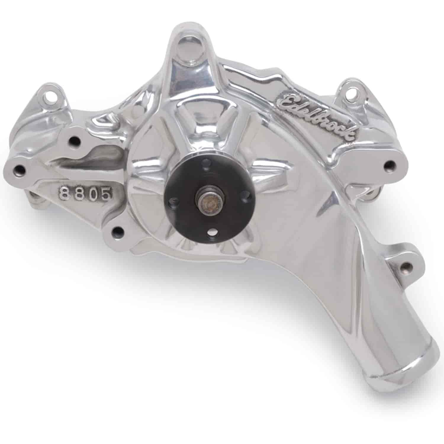 Edelbrock 8835 - Edelbrock Victor Series Water Pumps - Polished Finish