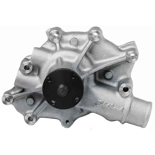 Edelbrock 8840 - Edelbrock Victor Series Water Pumps - As-Cast Natural Satin Finish