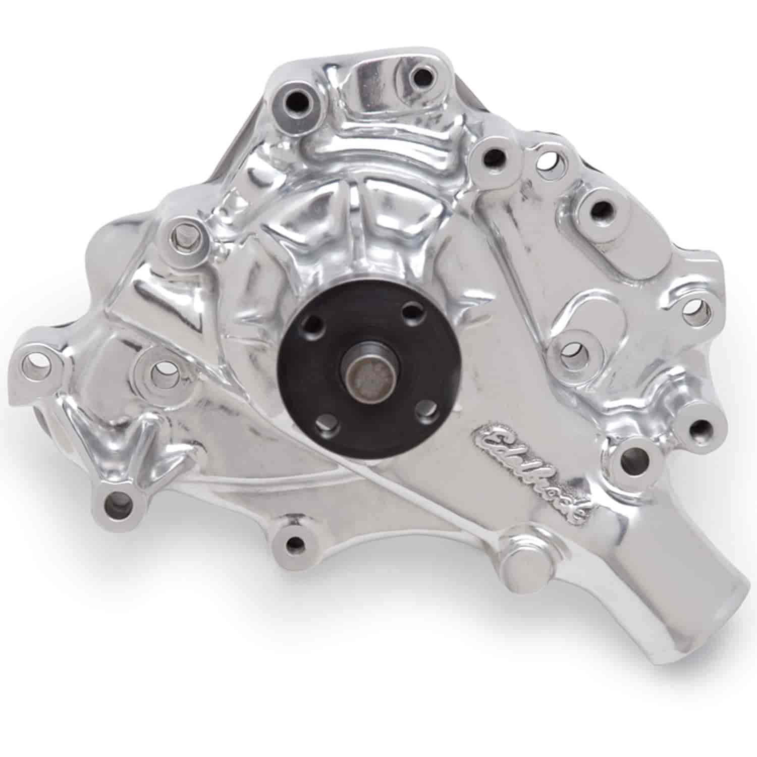 Edelbrock 8848 - Edelbrock Victor Series Water Pumps - Polished Finish