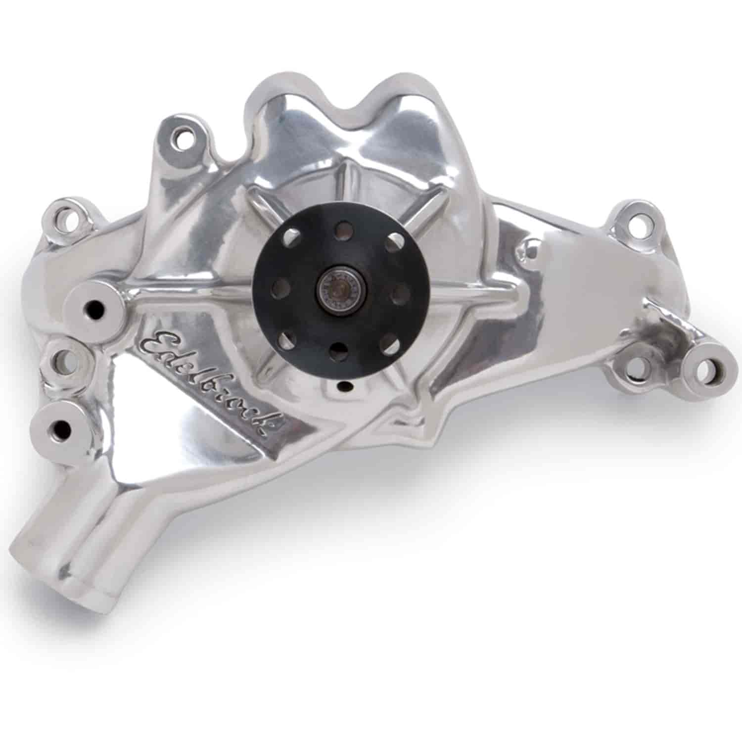 Edelbrock 8861 - Edelbrock Victor Series Water Pumps - Polished Finish
