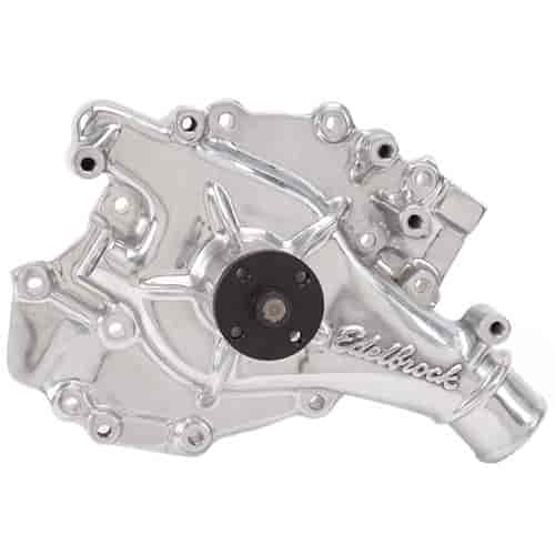 Edelbrock 8876 - Edelbrock Victor Series Water Pumps - Polished Finish