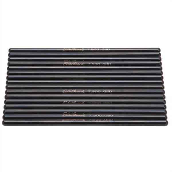 Edelbrock 9629 - Edelbrock Hardened Steel Pushrods