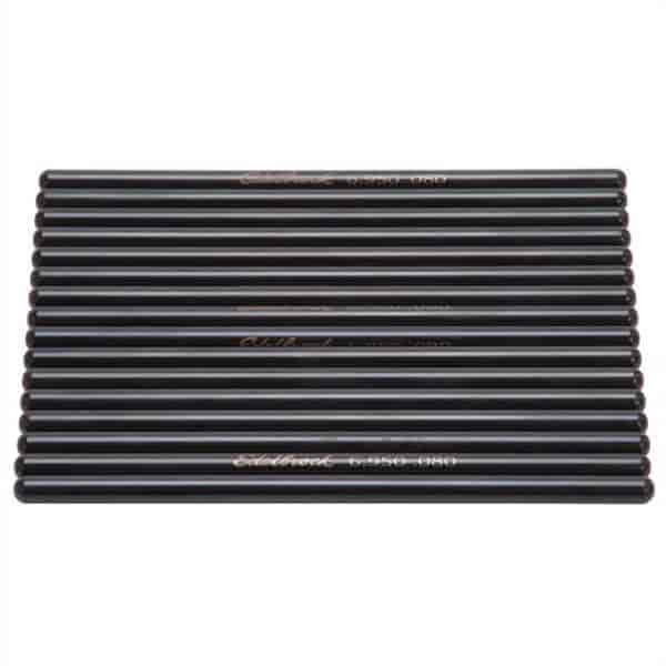 Edelbrock 9638 - Edelbrock Hardened Steel Pushrods