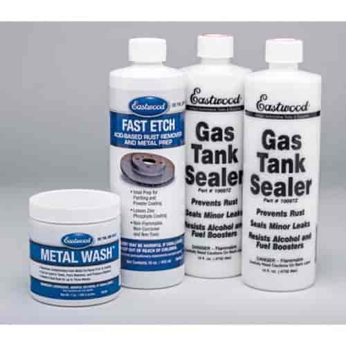 Eastwood 10165Z - Eastwood Gas Tank Sealer Kit for Cars