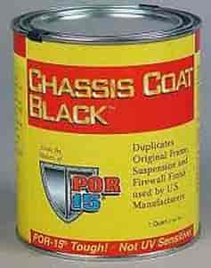 Eastwood 13721 - Eastwood POR-15 Chassis Coat Black Semi Gloss Paint