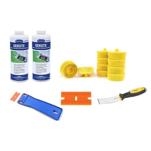 Eastwood 15245zpk2 paint stripper kit 2 quarts jegs for Dekote paint remover