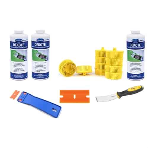 Eastwood 15245zpk3 paint stripper kit 3 quarts jegs for Dekote paint remover