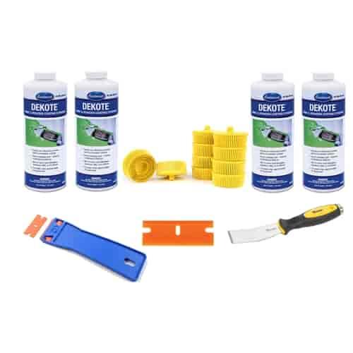 Eastwood 15245zpk4 paint stripper kit 4 quarts jegs for Dekote paint remover