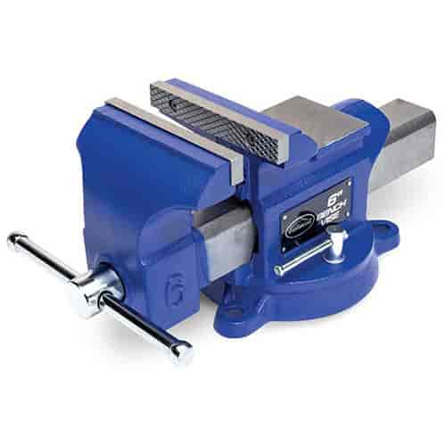 Eastwood 30114 bench mounted vise 6 inch wide jaws ebay 6 inch bench vise